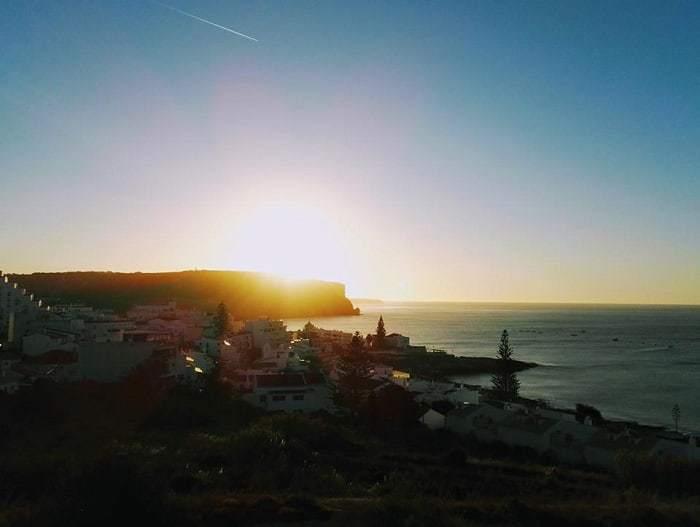 Luz au coucher du soleil