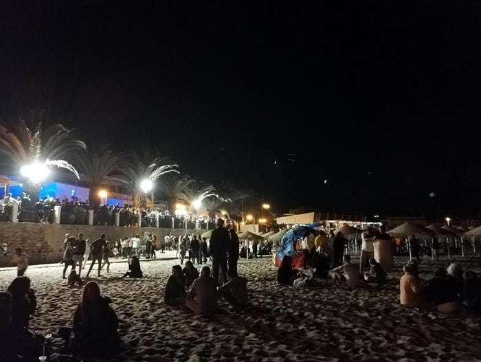 Fête à Praia da Luz