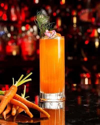 cóctel de zanahoria