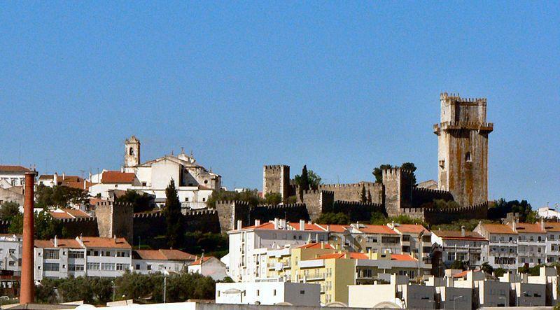 castillo de Beja y su torre