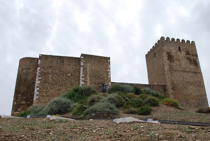 exterior del Castillo de Mértola