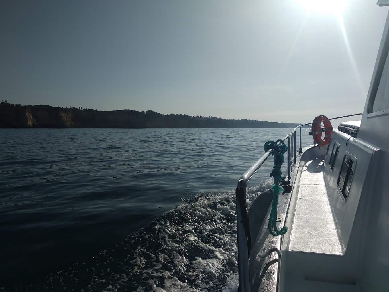 Libertad boat sailing