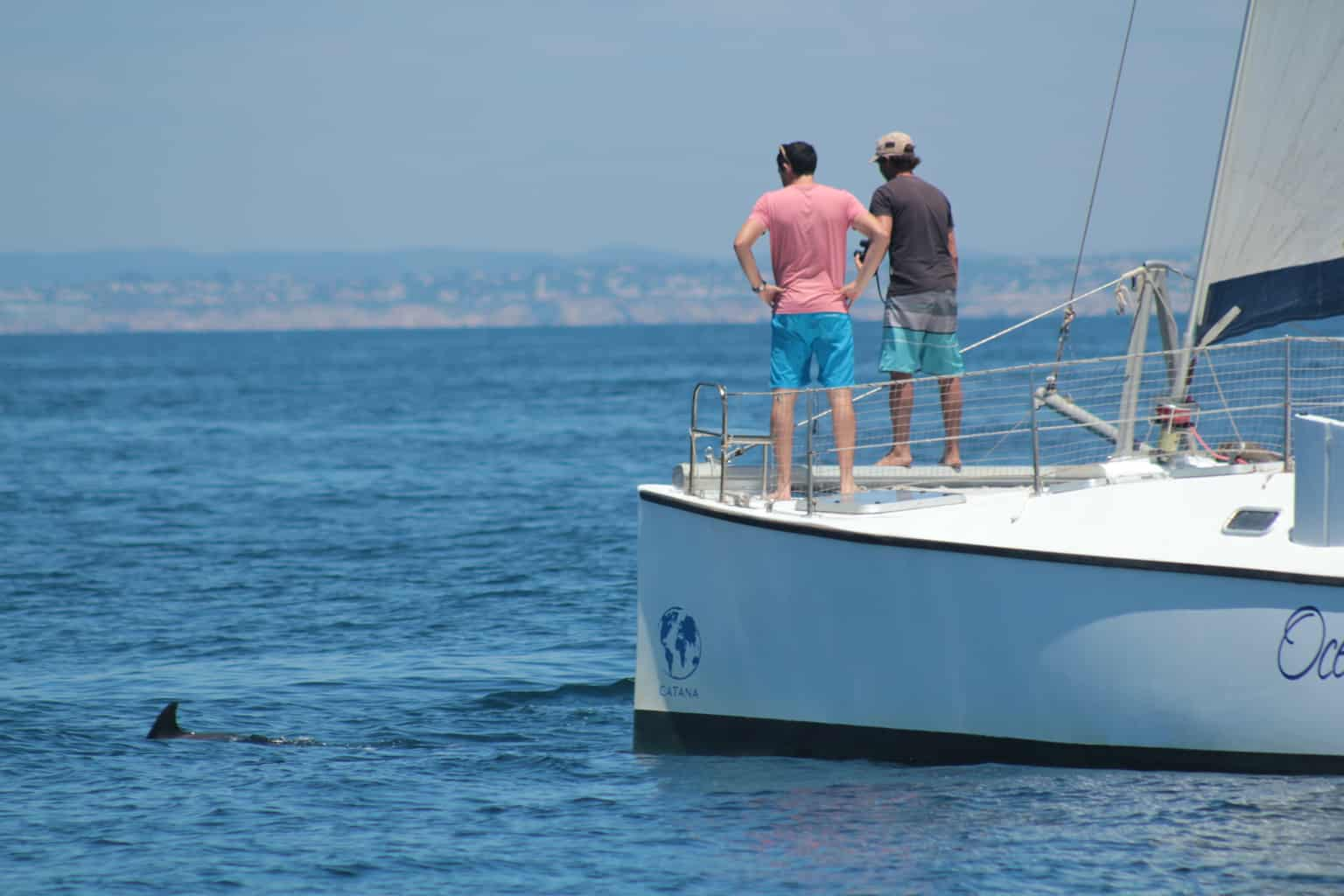 catamaran crew