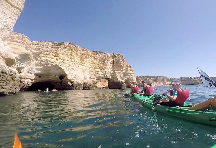 Kayak Explorer experience from Ferragudo to Benagil Caves