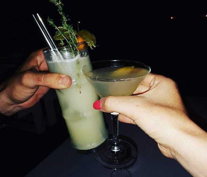 Cocktail en Algarve