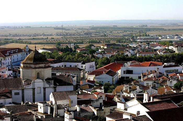 Vista Panoramica De Evora