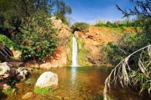cascada en Vigario