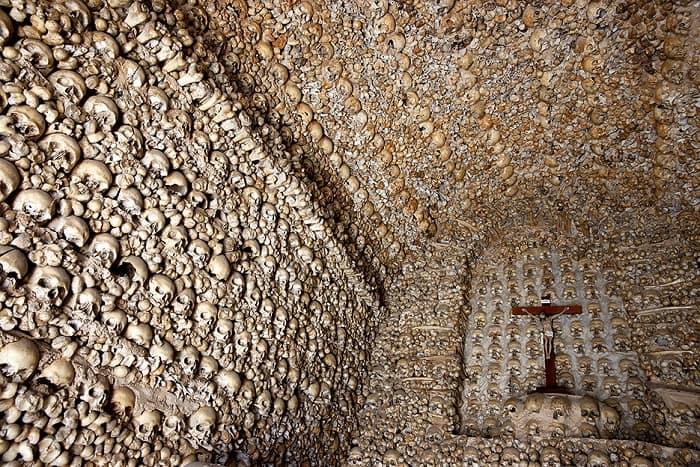 Capela Dos Ossos Alcantarilha