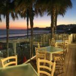 Sunset From The Terrace Restaurant At The Waterfront Albufeira