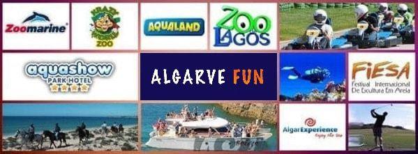 Logos des partenaires d'Algarve Fun
