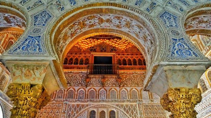 Alcazar Salon De Embajadores Seville