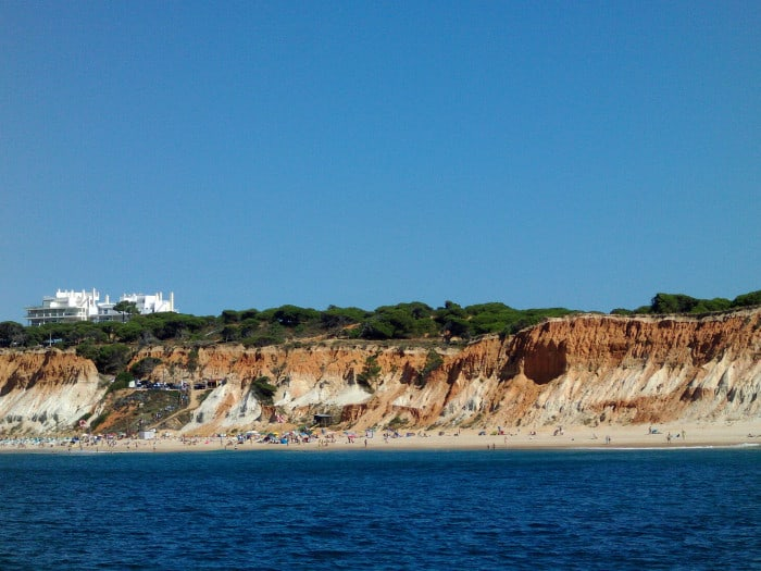 Falesia Beach Seen From Sea