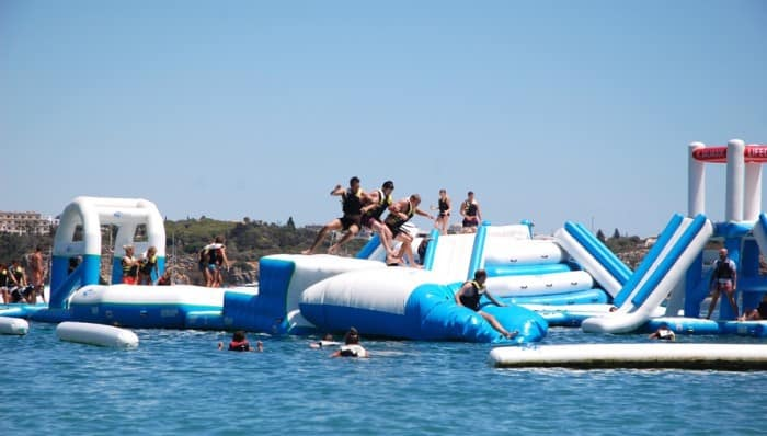 Floating Waterpark Jump