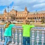 Spain Road Trip Plaza De Espana Seville