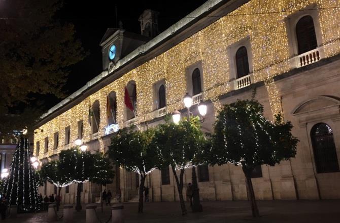 Luzes de Natal em Sevilha