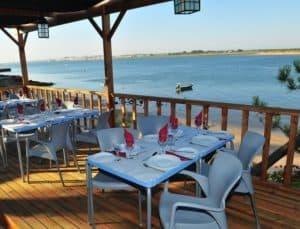 terrace at Dom Petisco Restaurant
