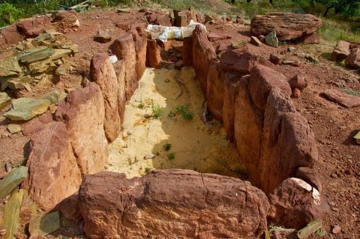 Monument mégalithique de Santa Rita (vila Real De Santoantónio)