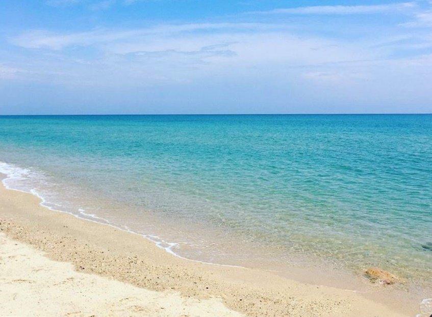 orilla de la playa de Culatra