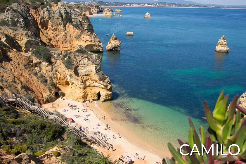 Camilo Beach In Lagos, Portugal
