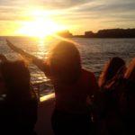 Sunset cruise ophelia
