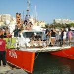 Sunset Puma boat trip