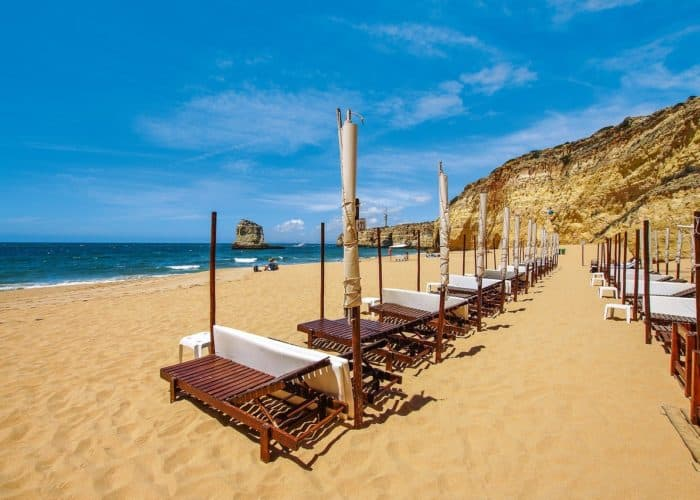 Beach In Ferragudo