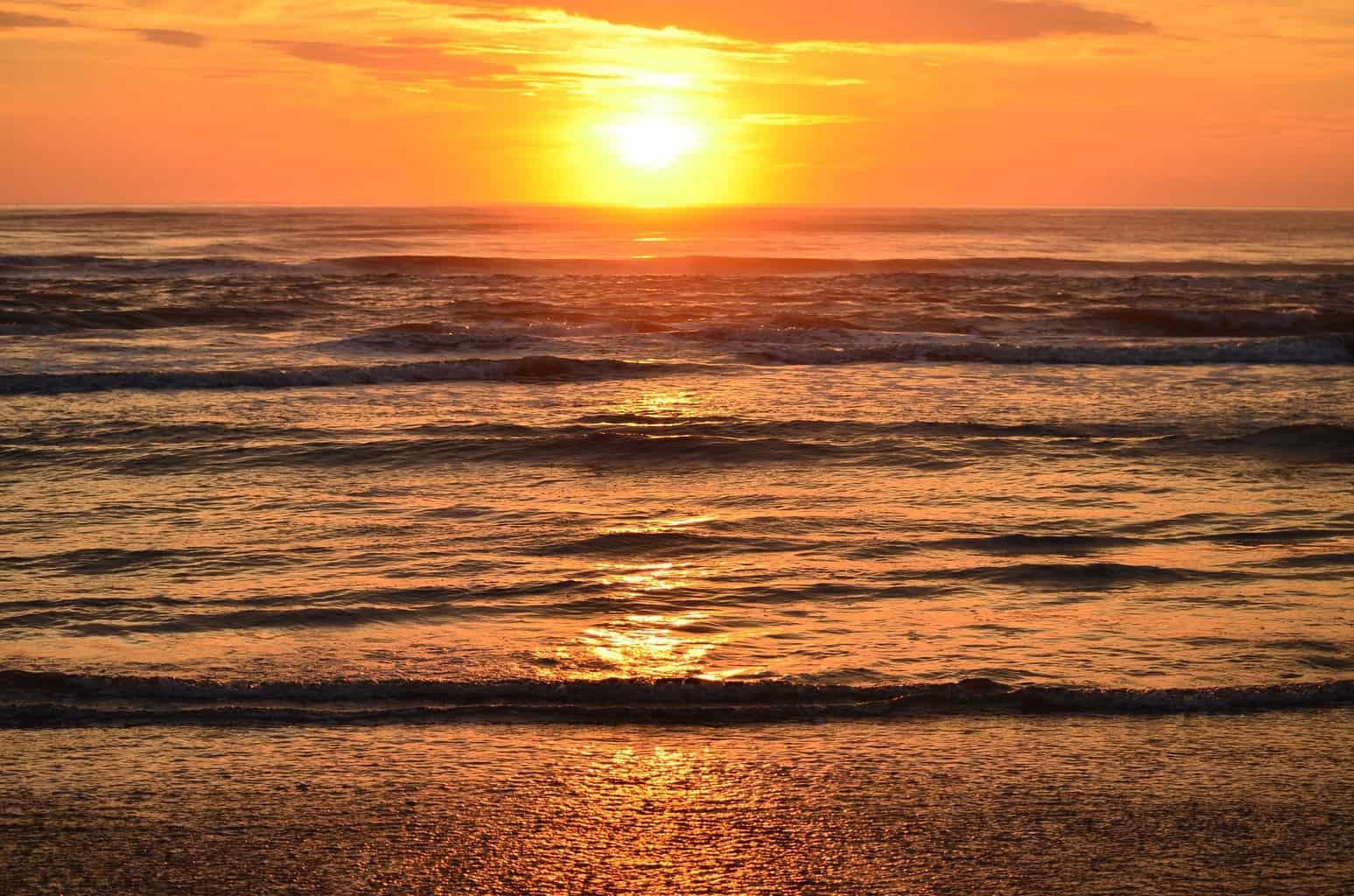 Por-do-sol em Alvor