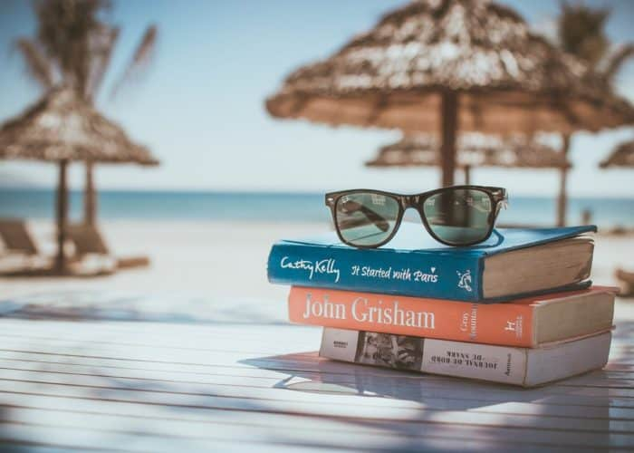 Books by the beach