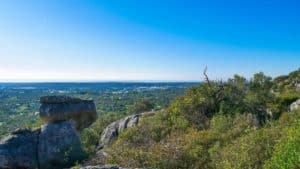 vistas desde lo alto del Cerro da Cabeça