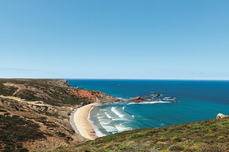 Ponta Ruiva beach Sagres