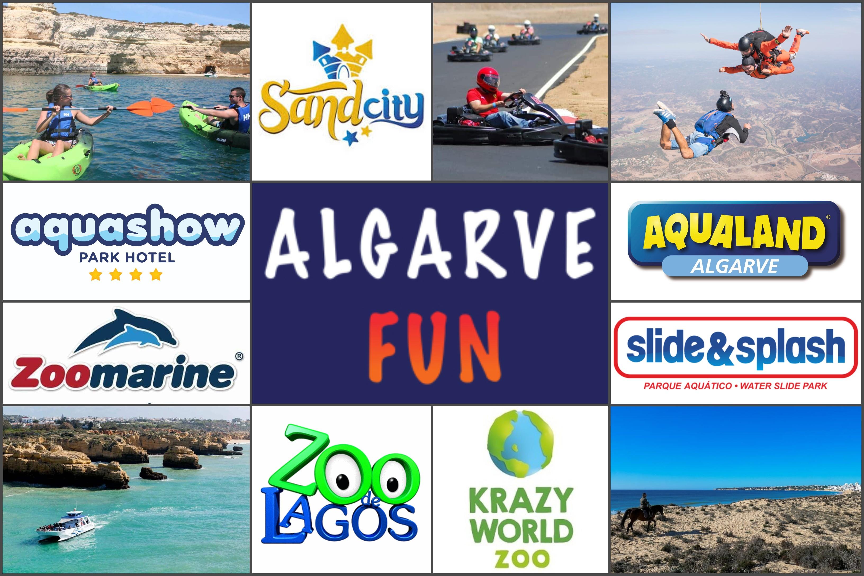 Colagem Algarve Fun